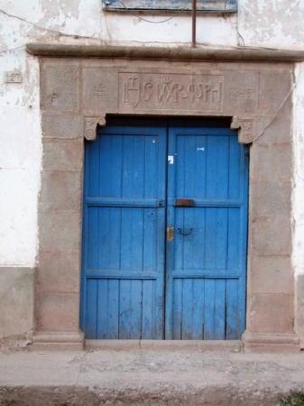 monestery.hotel entrance.yucay.peru.judy