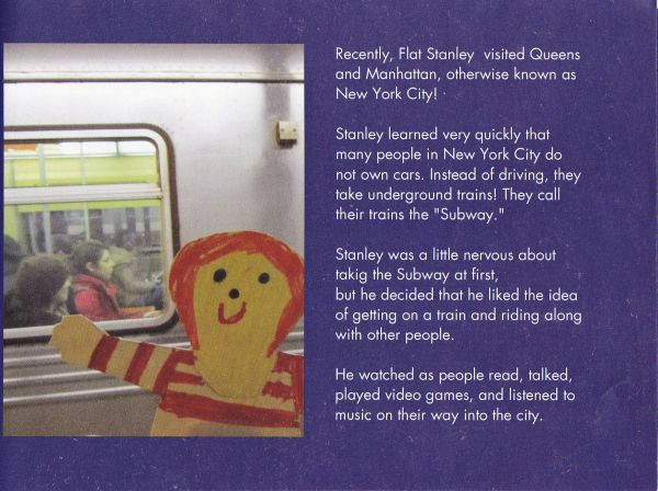 flat stanley goes to new york city | My Wintersong