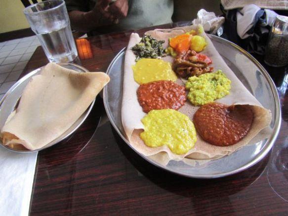 ethiopean lunch